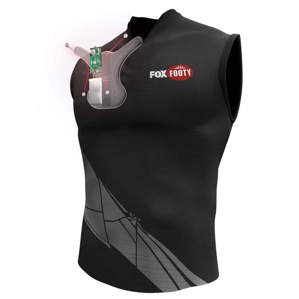 Foxtel Alert Shirt - Exploded View